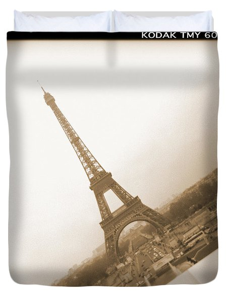 A Walk Through Paris 11 Duvet Cover by Mike McGlothlen