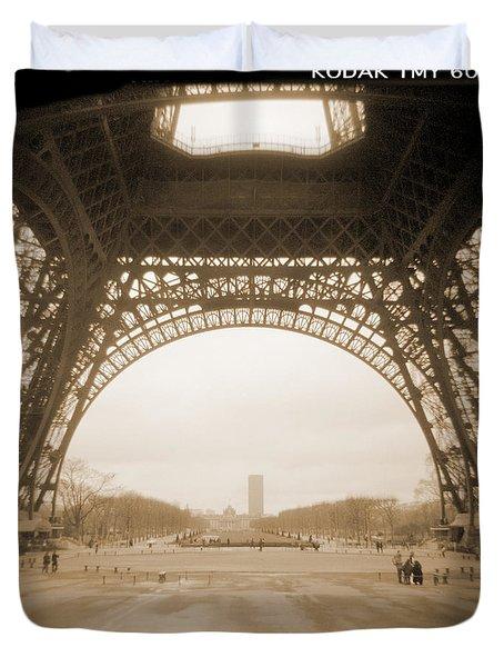 A Walk Through Paris 14 Duvet Cover by Mike McGlothlen