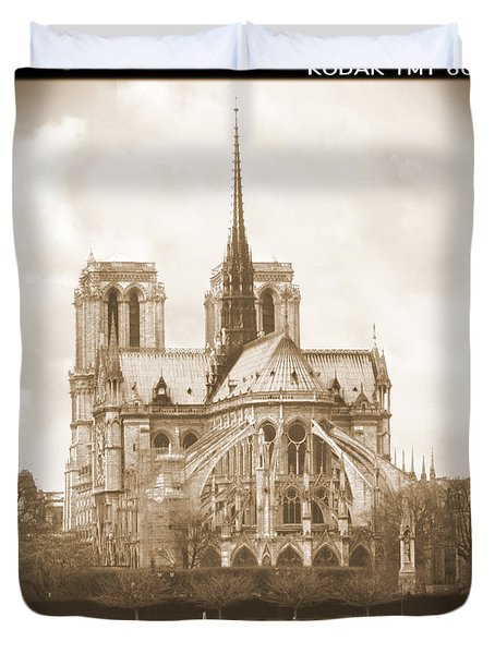 A Walk Through Paris 25 Duvet Cover by Mike McGlothlen