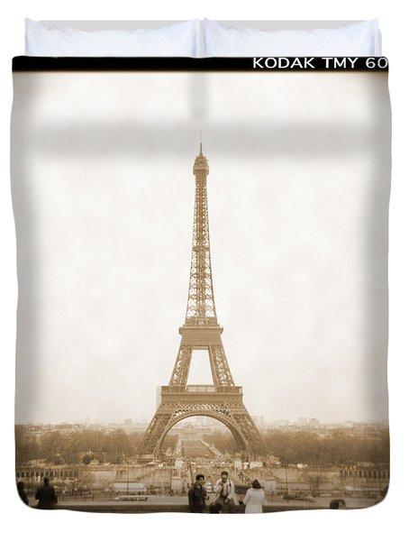 A Walk Through Paris 5 Duvet Cover by Mike McGlothlen