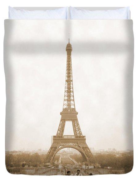 A Walk Through Paris 5 Duvet Cover