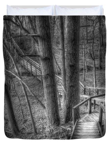 A Walk Through The Woods Duvet Cover