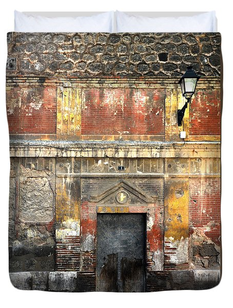 A Wall In Decay Duvet Cover by RicardMN Photography