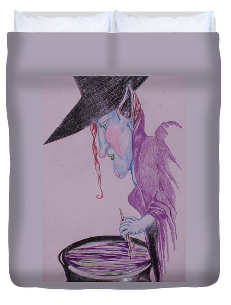 A Wicked Brew Duvet Cover