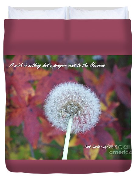 A Wish For You Duvet Cover