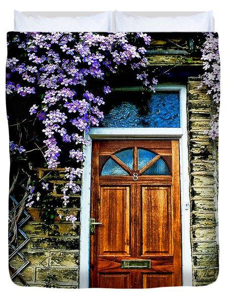 A Yorkshire Door Duvet Cover