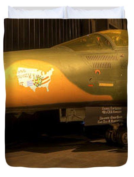 Aardvark F-111 Duvet Cover