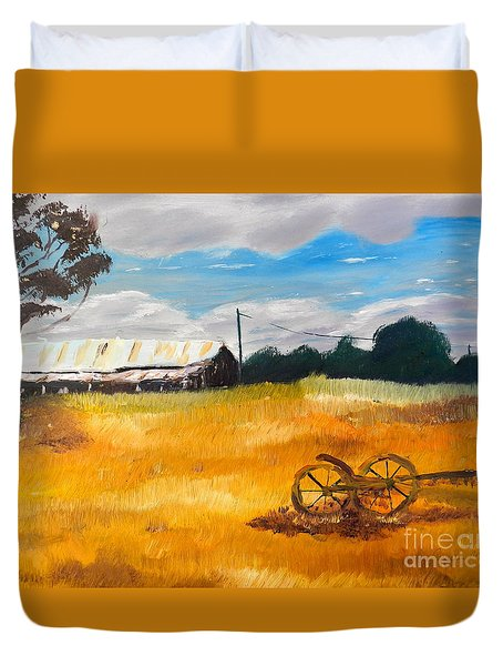 Abandon Farm Duvet Cover