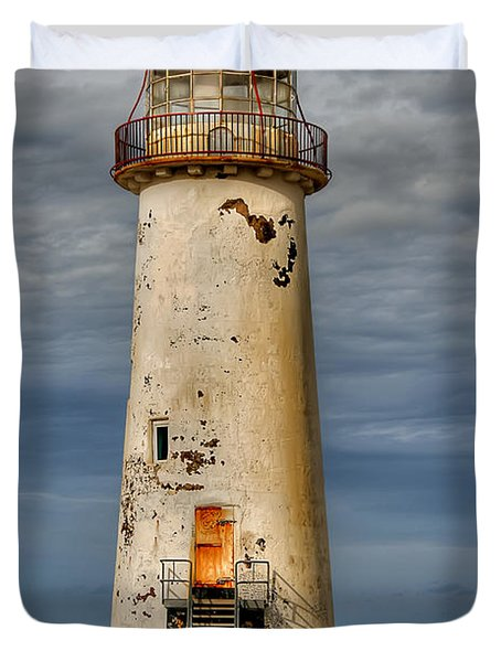 Abandoned Duvet Cover by Adrian Evans