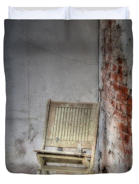 Abandoned But Not Forgotten Duvet Cover by Susan Candelario