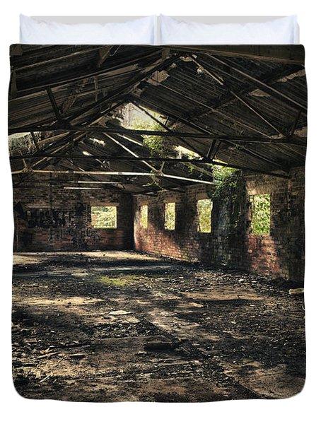 Abandoned Duvet Cover by Amanda Elwell