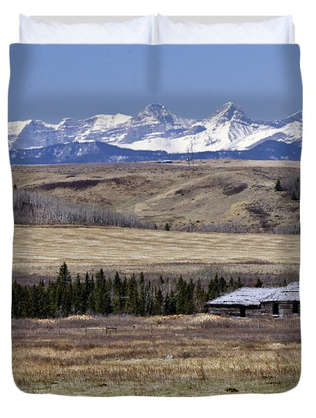 Abandoned Duvet Cover by Dee Cresswell