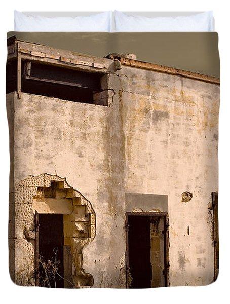 Abandoned Dreams Duvet Cover