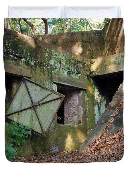 Abandoned Halls Duvet Cover