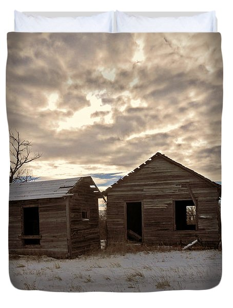 Abandoned History Duvet Cover by Desiree Paquette