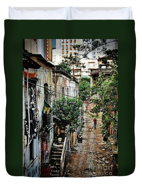 Abandoned Place In Sao Paulo Duvet Cover