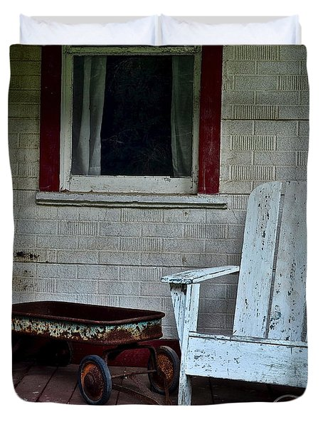 Abandoned Duvet Cover by Frozen in Time Fine Art Photography