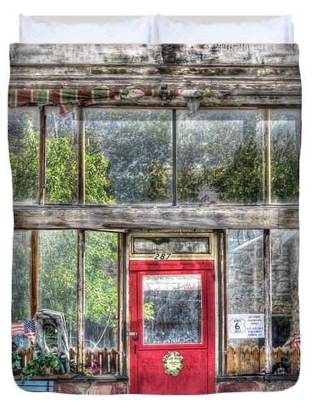Abandoned Shop Duvet Cover