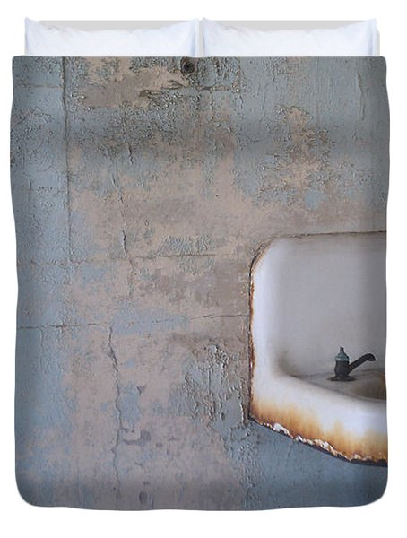 Abandoned Sink Duvet Cover