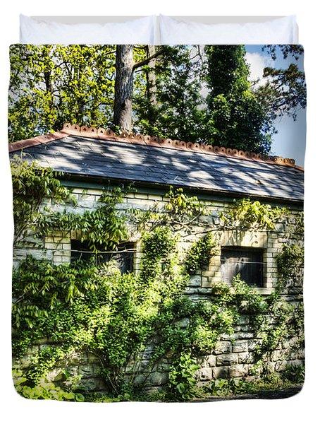 Abandoned Duvet Cover by Steve Purnell