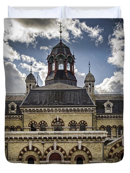 Abbey Mills Pumping Station Duvet Cover by Heather Applegate