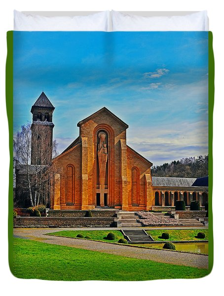 Abbey Orval Today Duvet Cover