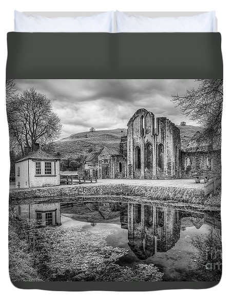 Abbey Reflections Duvet Cover by Adrian Evans