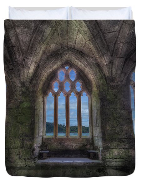 Abbey View Duvet Cover by Adrian Evans