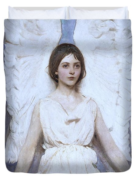 Abbott Handerson Thayer Angel 1886 Duvet Cover