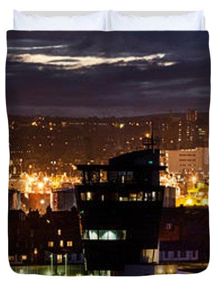 Aberdeen Skyline Duvet Cover