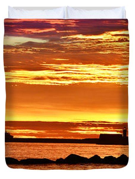 Aberdeen Sunrise Duvet Cover