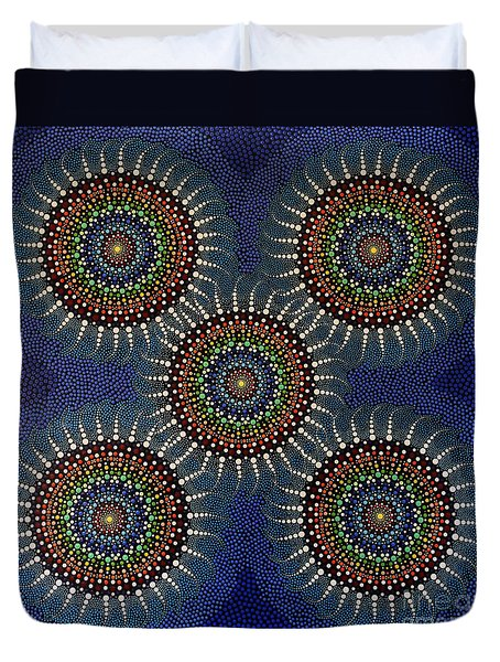 Aboriginal Inspirations 16 Duvet Cover