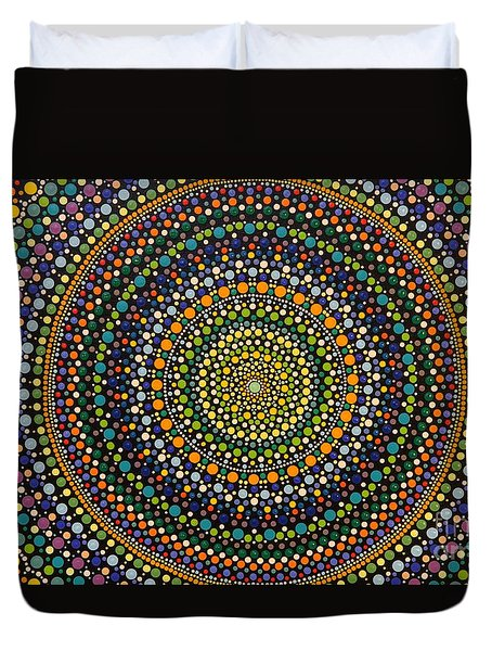 Aboriginal Inspirations 28 Duvet Cover