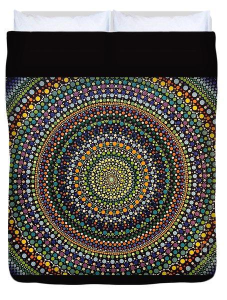 Aboriginal Inspirations 29 Duvet Cover