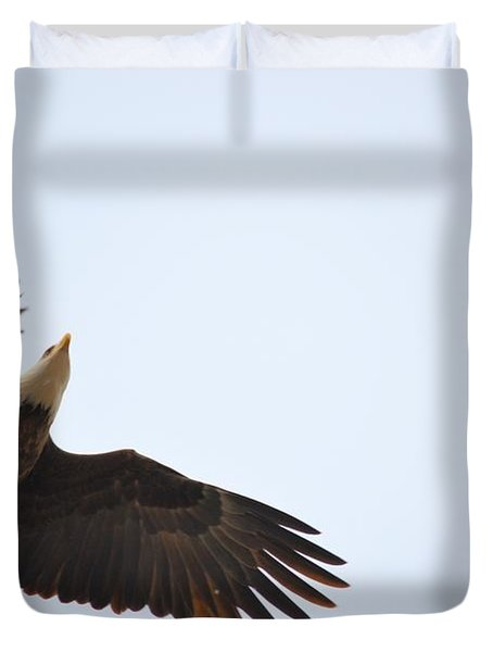 Above All Else Duvet Cover