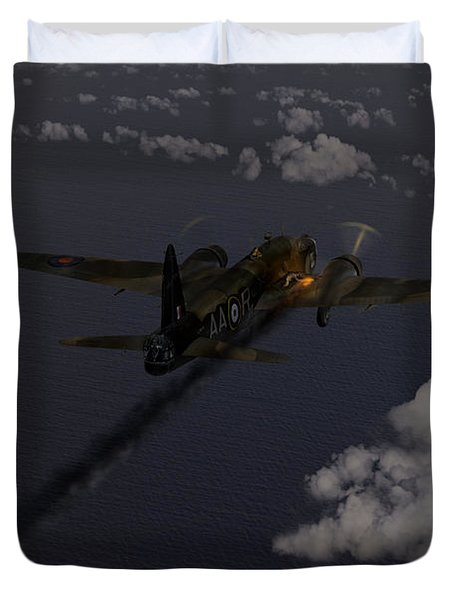 Above And Beyond - Jimmy Ward Vc Duvet Cover