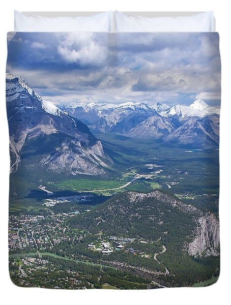 Above Banff Duvet Cover