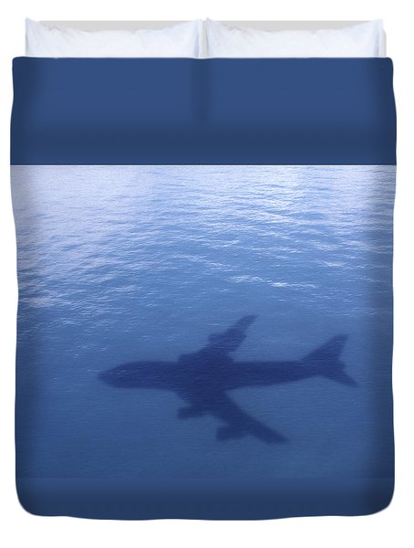 Above Mean Sea Level Duvet Cover by Daniel Furon
