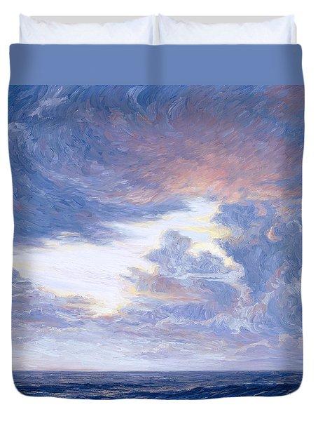 Above The Horizon Duvet Cover