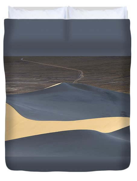 Above The Road Duvet Cover