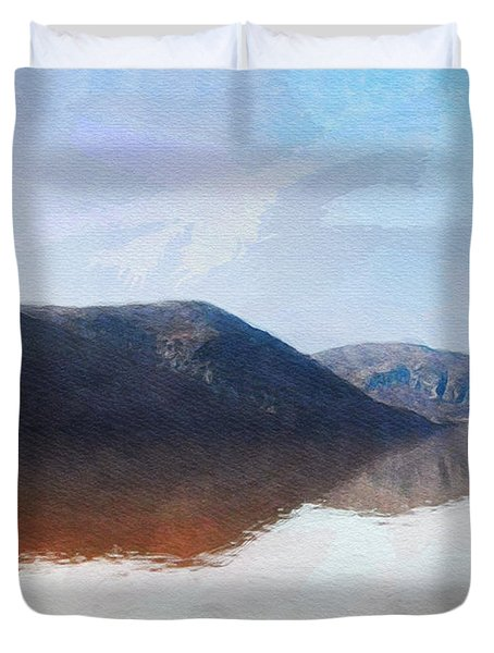 Above West Point Duvet Cover