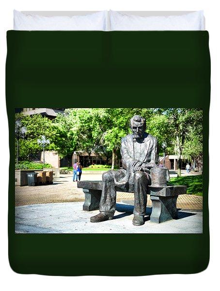 Abraham Lincoln Monument Duvet Cover
