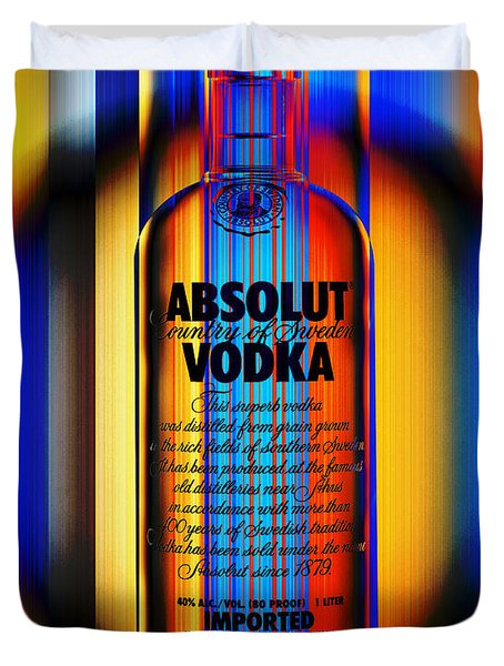 Absolut Abstract Duvet Cover by Chuck Staley