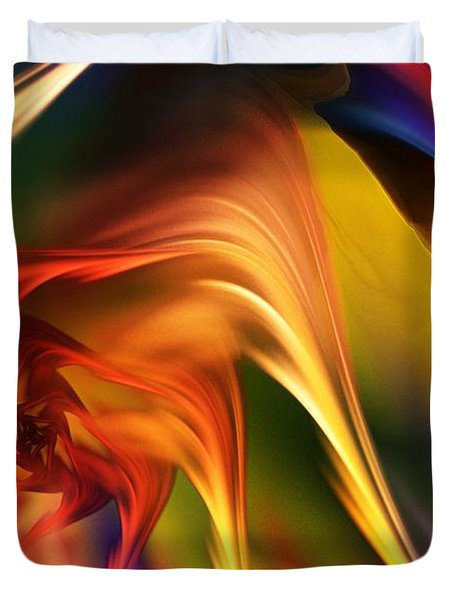 Abstract 031814 Duvet Cover