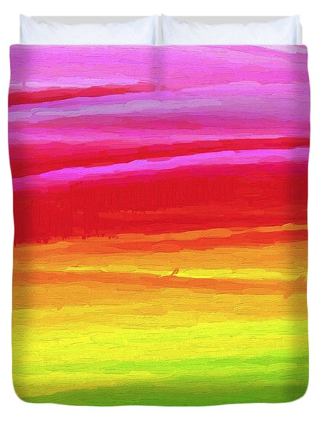 Abstract 101 Duvet Cover Duvet Cover