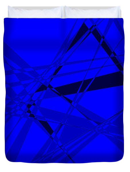Abstract 156 Duvet Cover by J D Owen