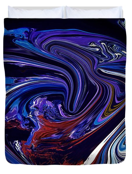 Abstract 170 Duvet Cover by J D Owen