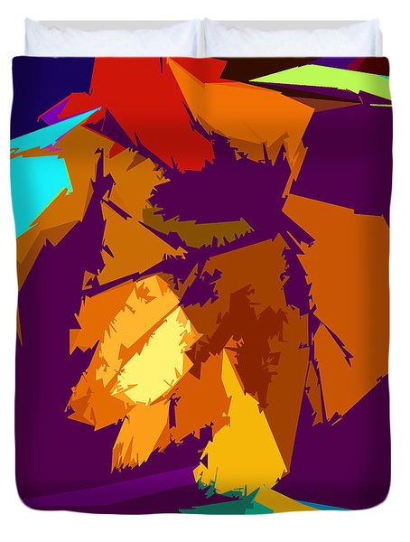 Abstract 3-2013 Duvet Cover by John Lautermilch