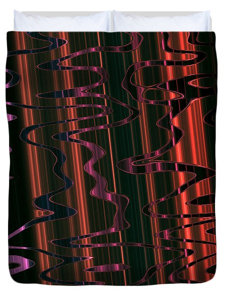 Abstract 327 Duvet Cover