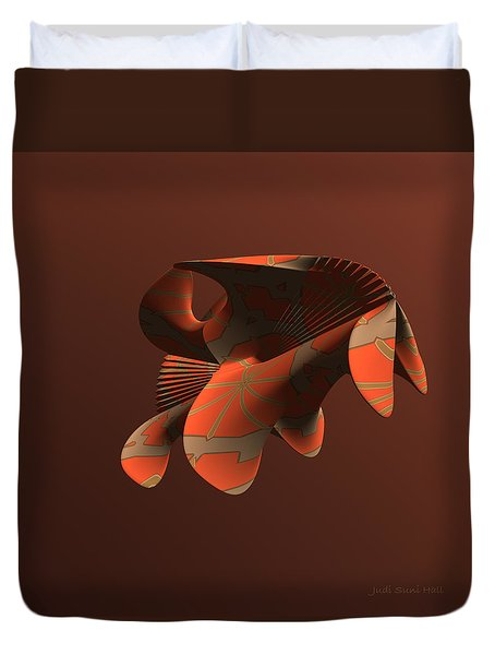 Abstract 351 Duvet Cover